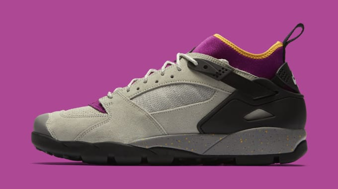 Nike Air Revaderchi 'Granite/RedPlum' AR0479-001 (Lateral)