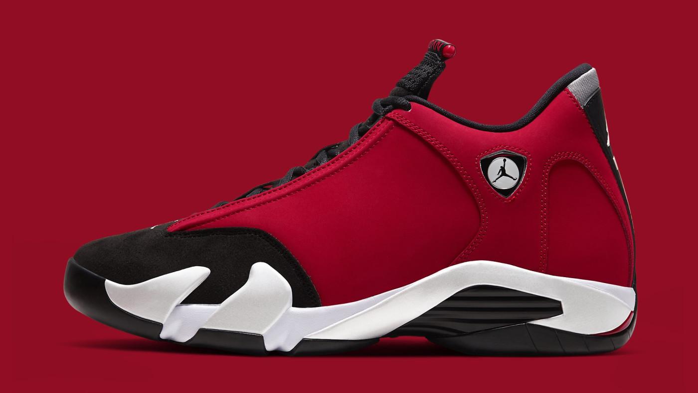 Air Jordan 14 Retro 'Gym Red' 487471-006 Lateral