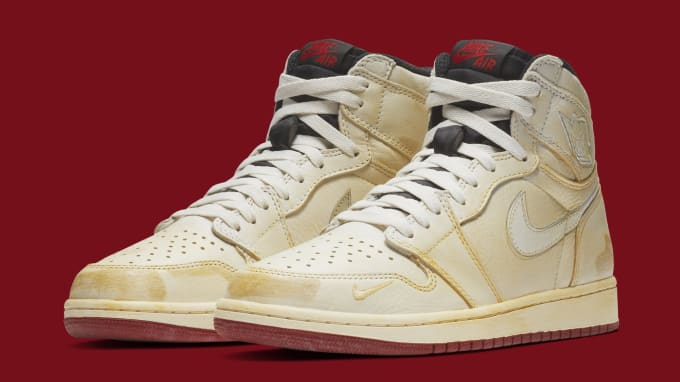 premium selection 34535 616e1 Nigel Sylvester x Air Jordan 1 BV1803-106 (Pair)