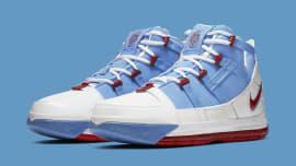 7d6b682688f Nike Zoom LeBron 3 QS 'Houston All-Star' AO2434-400 Pair