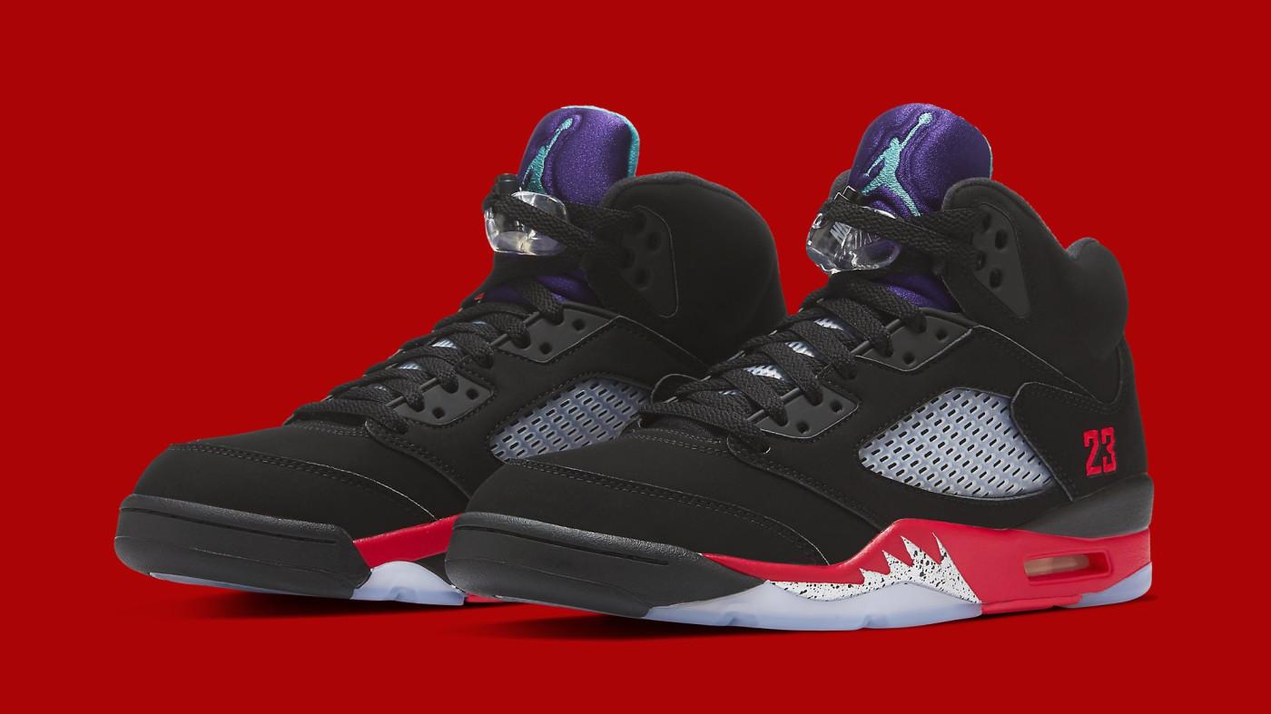 Air Jordan 5 Retro 'Top 3' CZ1786-001 Pair