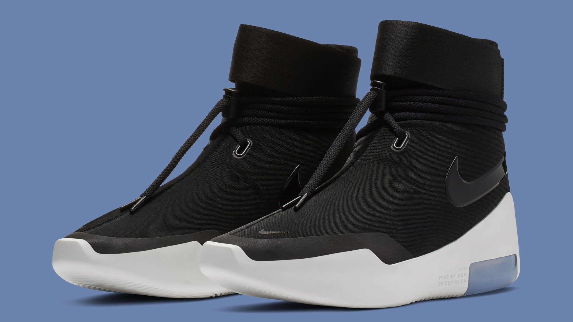 Best Look Yet at the Nike Air Fear of God SA