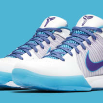 Nike Kobe 4 Protro 'White/Orion Blue-Varsity Purple' AV6339-100 (Pair)