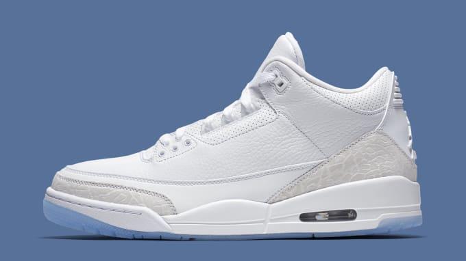 size 40 e2e4e 4ab13 Air Jordan III  Pure White