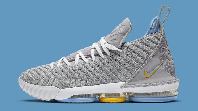 750fec05a8eb Nike LeBron 16 MPLS Release Date CK4765-001 Profile