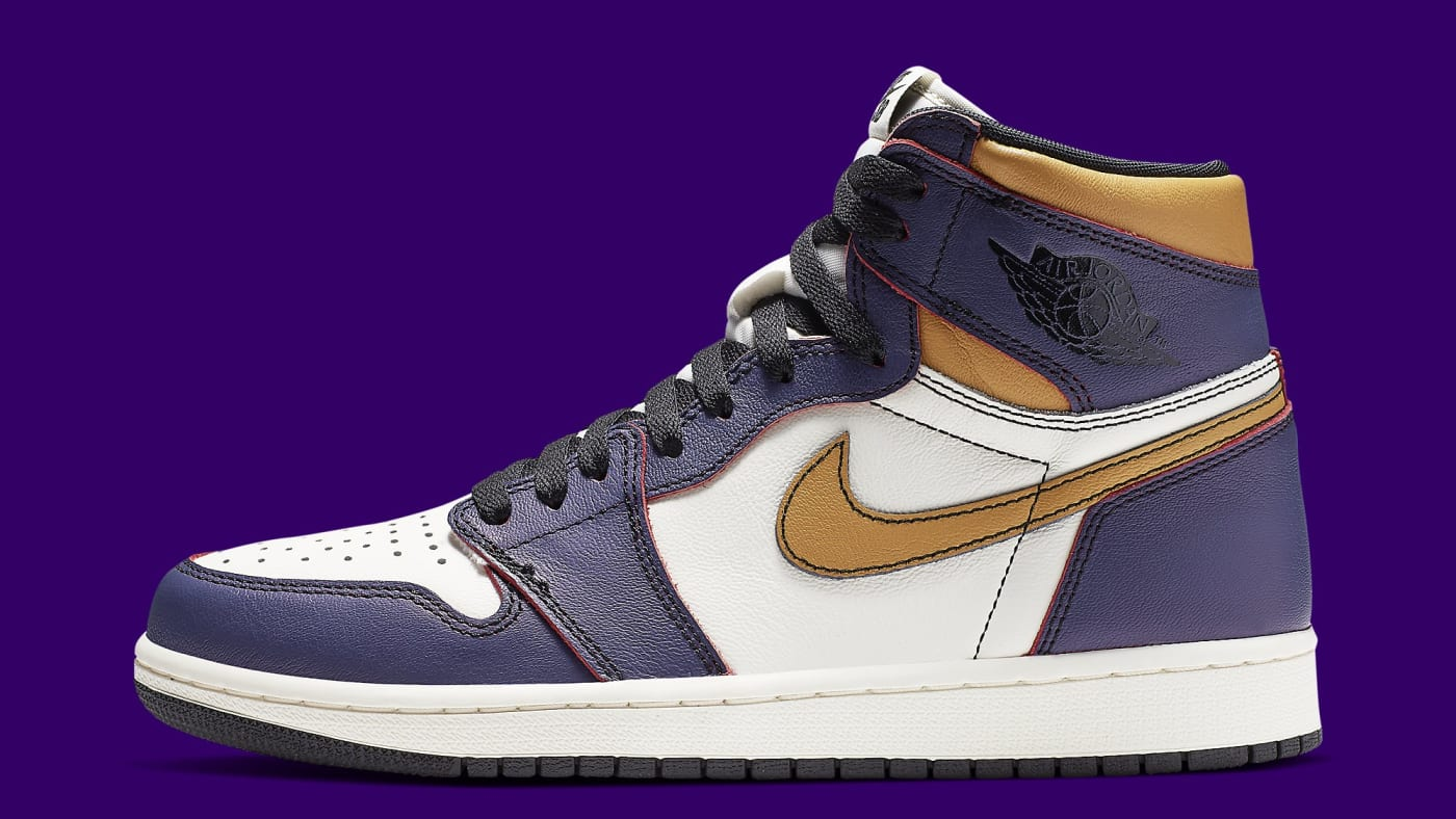 Nike SB x Air Jordan 1 High 'LA to Chicago' CD6578 507 Lateral