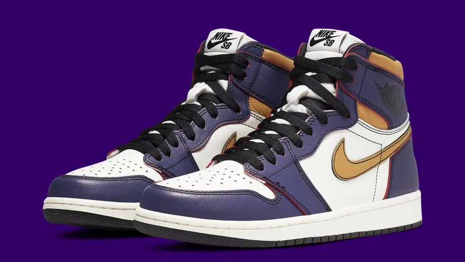 Nike SB x Air Jordan 1 High 'LA to Chicago' CD6578-507 Pair