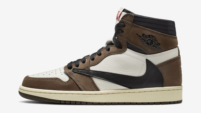 buy online 6c5f1 9344d Travis Scott x Air Jordan 1 Brown Release Date CD4487-100 Profile. Image  via Nike
