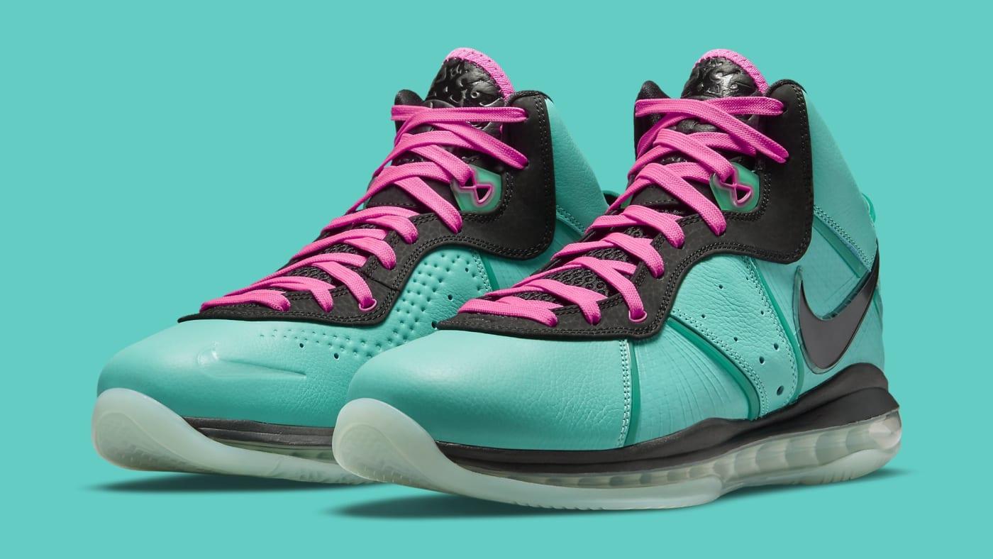 Nike LeBron 8 'South Beach' CZ0328-400 Pair