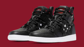 half off de8c7 5e2d9 These Air Jordan 1s Are Covered in Cargo Netting ·
