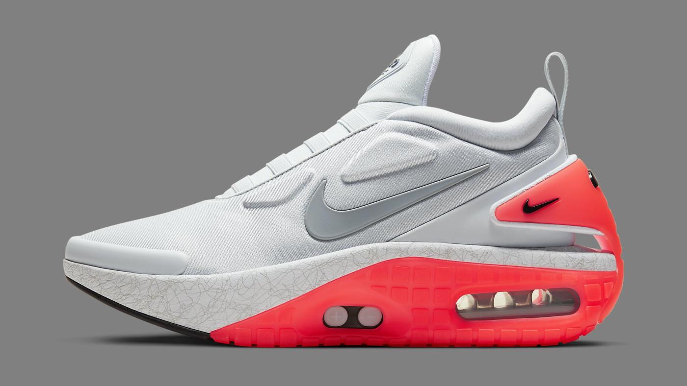 Nike Adapt Auto Max 'Infrared' CI5018-002 Lateral