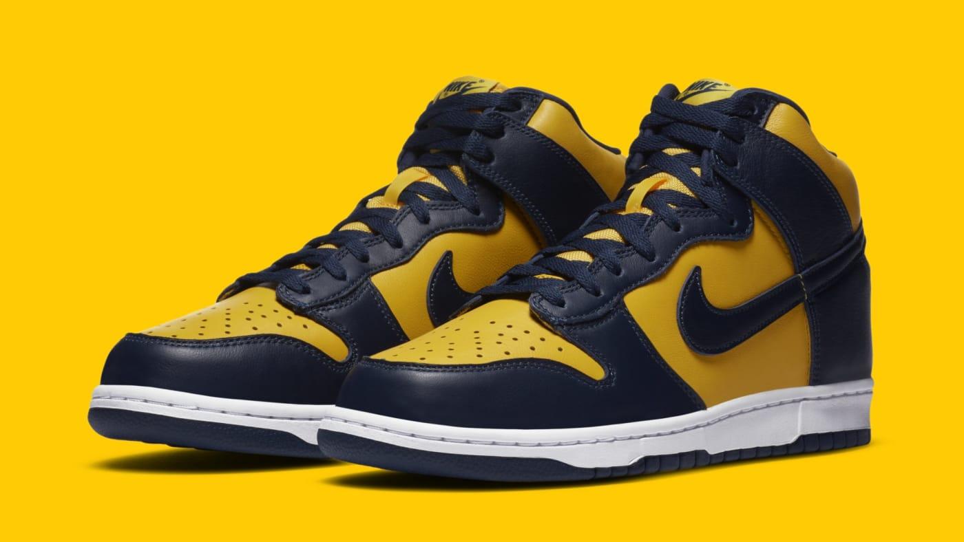 Nike Dunk High SP 'Michigan' CZ8149 700 Pair