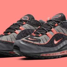 Nike Air Max 98 'Gunsmoke/Lava Glow-Thunder Grey-Oil Grey' BV6046-001 (Pair)