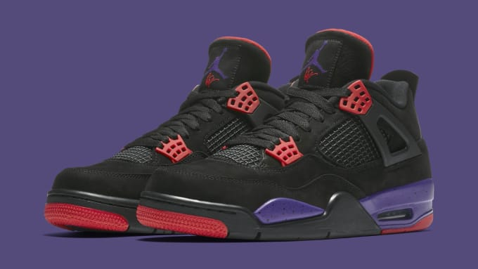 4b968e3abf0202 Air Jordan 4 Retro  Raptors  ...