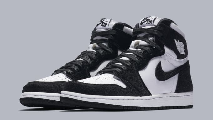 04bc00355170 WMNS Air Jordan 1 High  Panda  CD0461-007 ...
