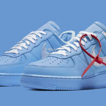 Off-White x Nike Air Force 1 Low 'MCA Chicago' CI1173-400 (Pair)