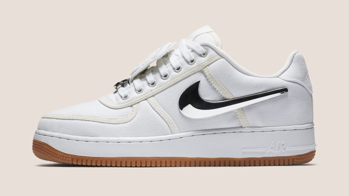 Travis Scott x Nike Air Force 1 Low 'Branco'