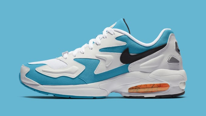 new product b7d04 0616d Nike Air Max2 Light  Blue Lagoon