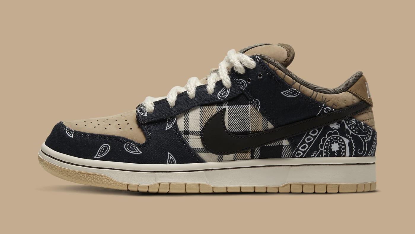 Travis Scott x Nike SB Dunk Low CT5053 001