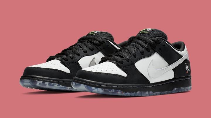 Nike SB Dunk Panda Pigeon Jeff Staple