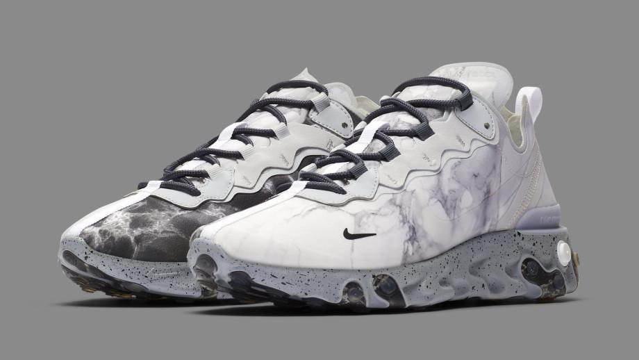 Kendrick Lamar Nike React Element 55 CJ3312-001 Sneakers