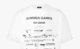 Raf Simons Summer Games Print T-shirt