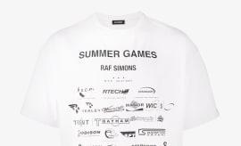 Raf Simons Summer Games Print T-shirt