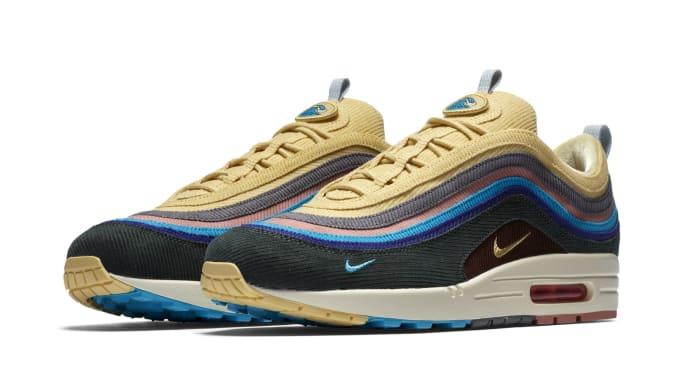 49269568539cd1 Sean Wotherspoon x Nike Air Max 1 97 AJ4219-200 (Pair)