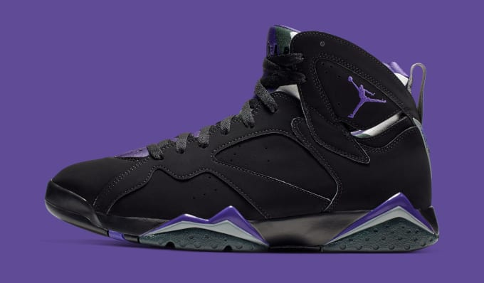 separation shoes fe034 a3478 Air Jordan 7  Ray Allen  304775-053 (Lateral). Image via Nike