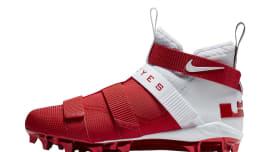 83c642d31133 Nike LeBron Soldier 11 College Cleats Ohio State Release Date Profile  AO9146-161