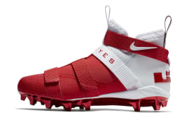 Nike LeBron Soldier 11 College Cleats Ohio State Release Date Profile AO9146-161