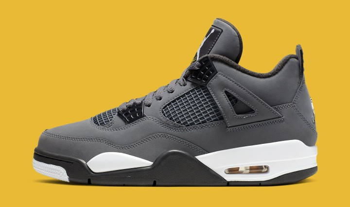 Air Jordan 4 'Cool Grey' 308497-007 (Lateral)