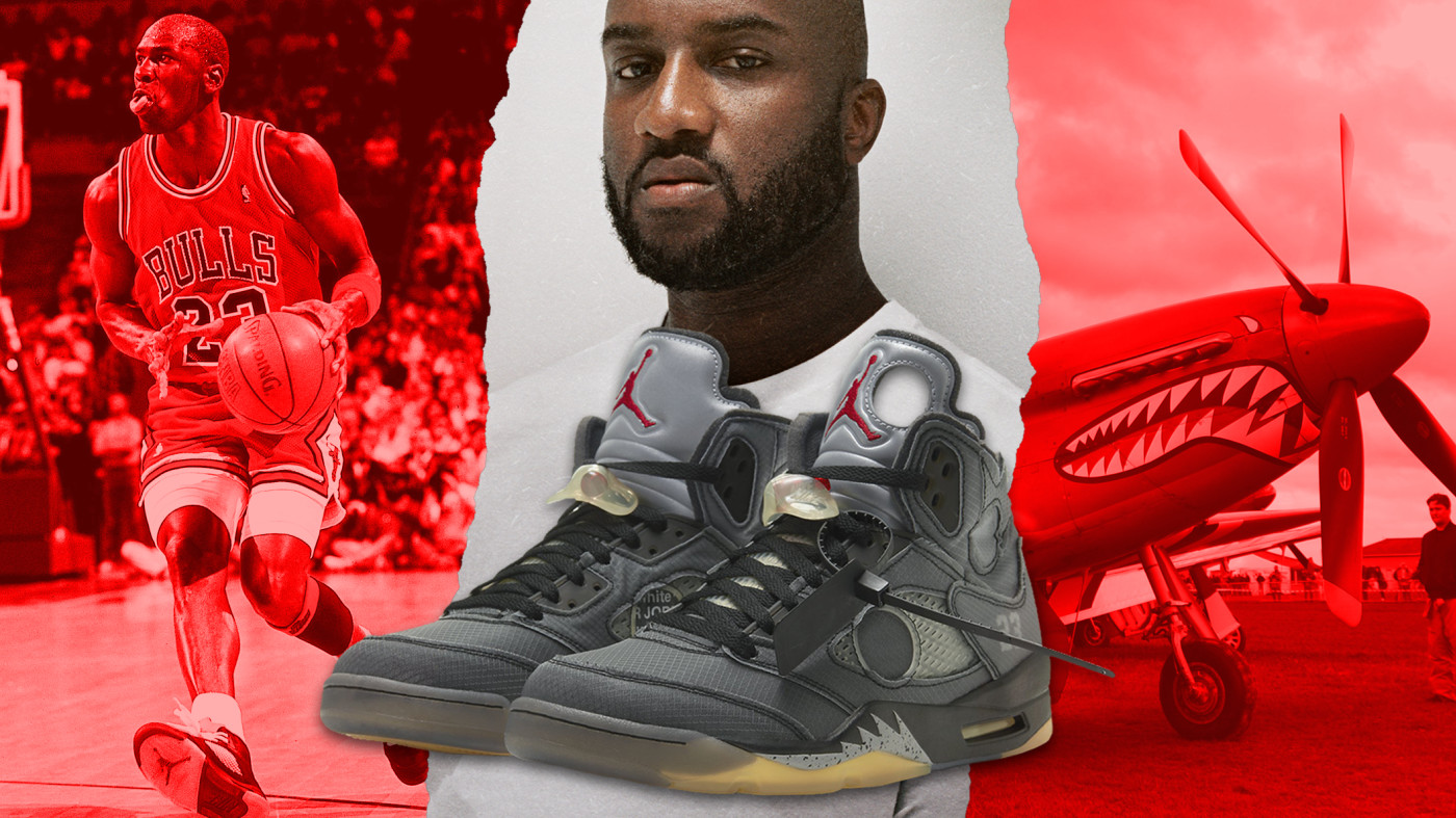 Virgil Abloh Off-white x Air Jordan V