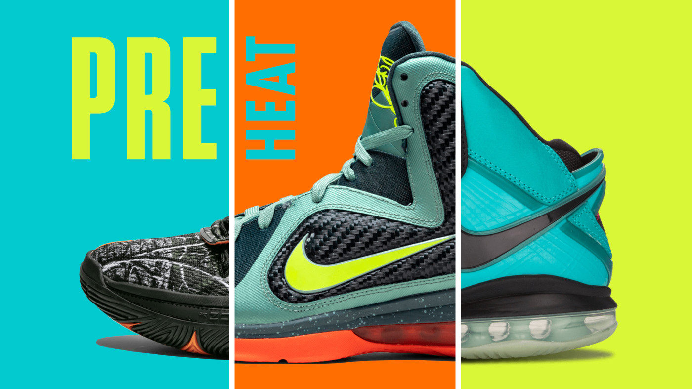 top 10 Nike Pre-Heat Colorways