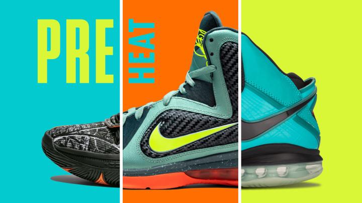 top 10 Nike Pre-Heat Colorways
