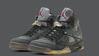 Off-White x Air Jordan 5 CT8480-001 (Pair)