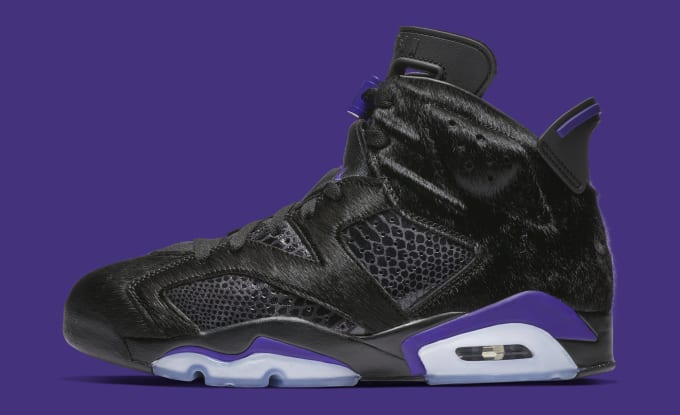 f59eba62acb Social Status x Air Jordan 6 NRG  Black Dark Concord  AR2257-005. Image via  Nike
