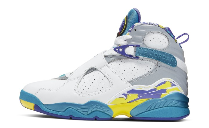sneakers for cheap 6954d 6d61e Air Jordan 8 Retro Women s Aqua 2019 CI1236-100 Lateral