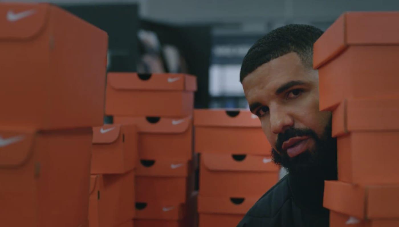 Drake Nike Music Video