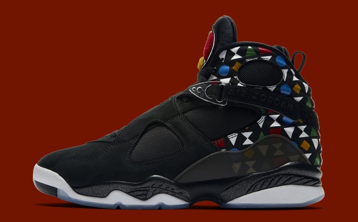 102456c882c Air Jordan 8 Retro 'Quai 54' CJ9218-001 Lateral