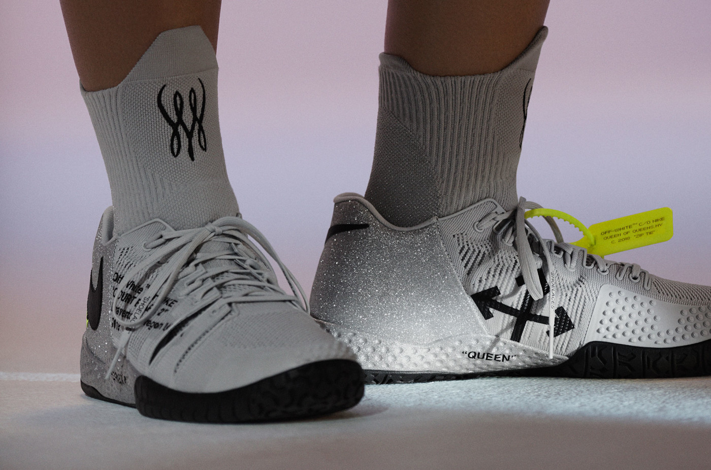 Virgil Abloh x Nike x Serena Williams Queen Collection NikeCourt Flare 2 (Pair)