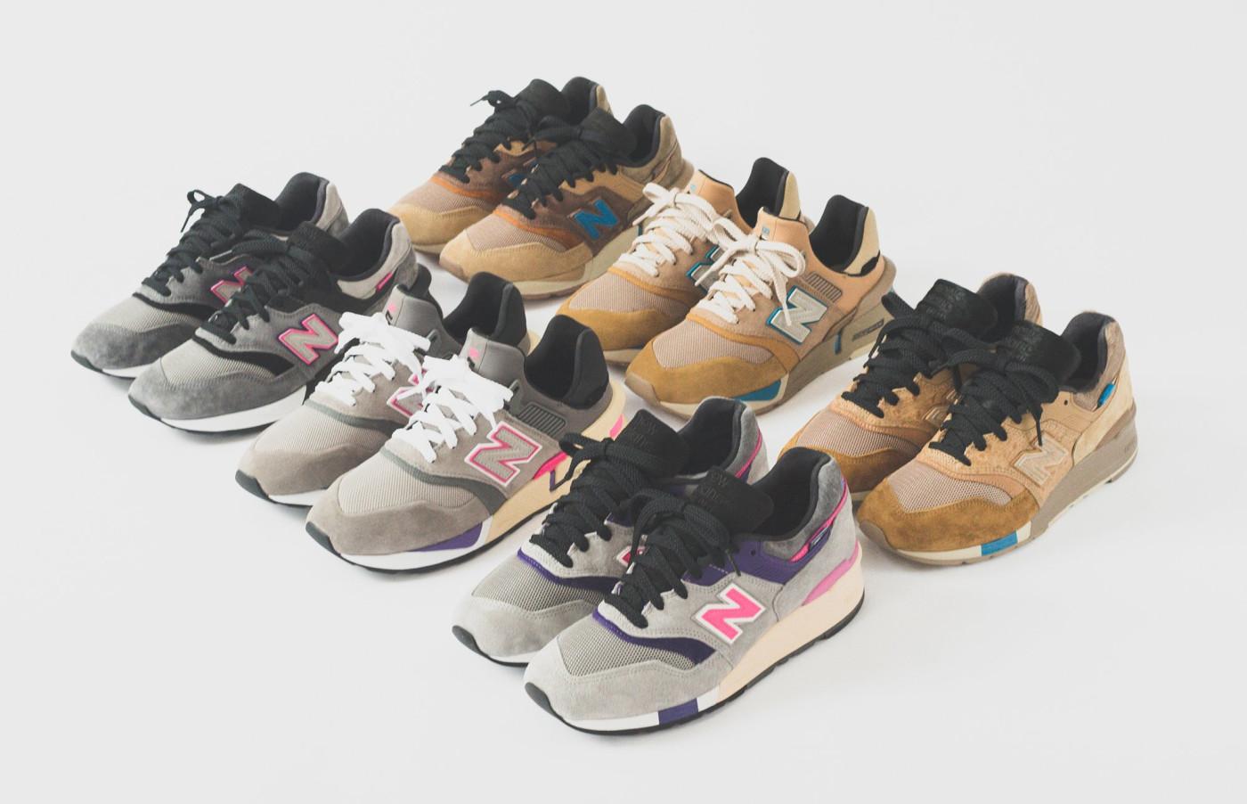 Kith x New Balance 2018 Collection