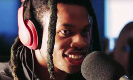 Denzel Curry Power 106 freestyle