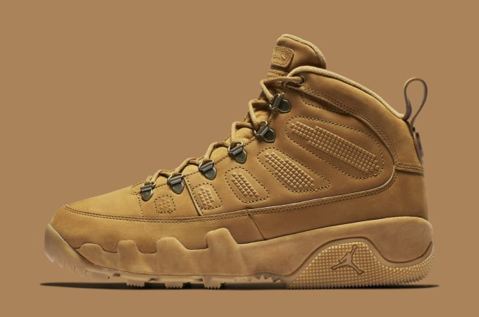 71ce05565db Air Jordan 9 Boot  Wheat . Image via Nike