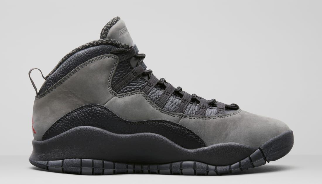 Air Jordan 10 'Shadow' (Medial)