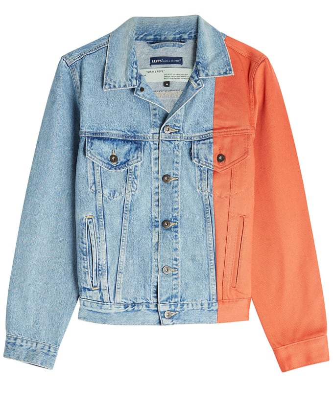 Off-White x Levi's Splice Trucker Jacket