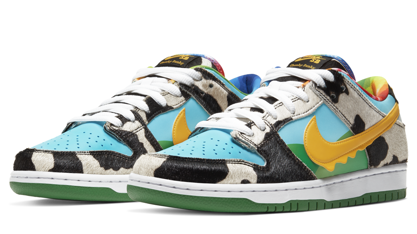 Ben and Jerry's x Nike SB Dunk Low 'Chunky Dunky' CU3244-100 (Pair)