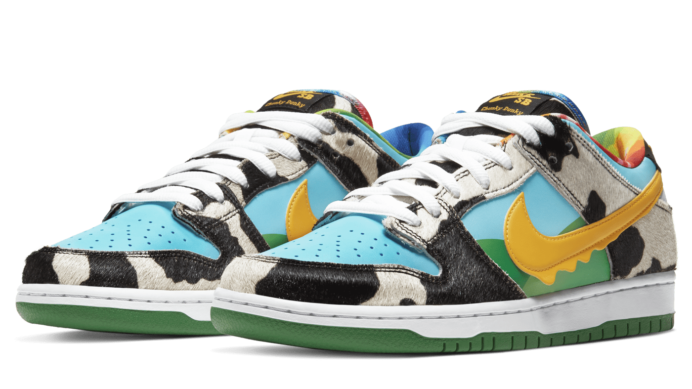 Ben and Jerry's x Nike SB Dunk Low 'Chunky Dunky' CU3244 100 (Pair)