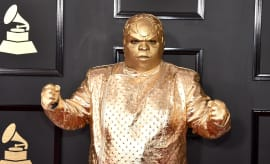 CeeLo Green Gold Suit Grammys