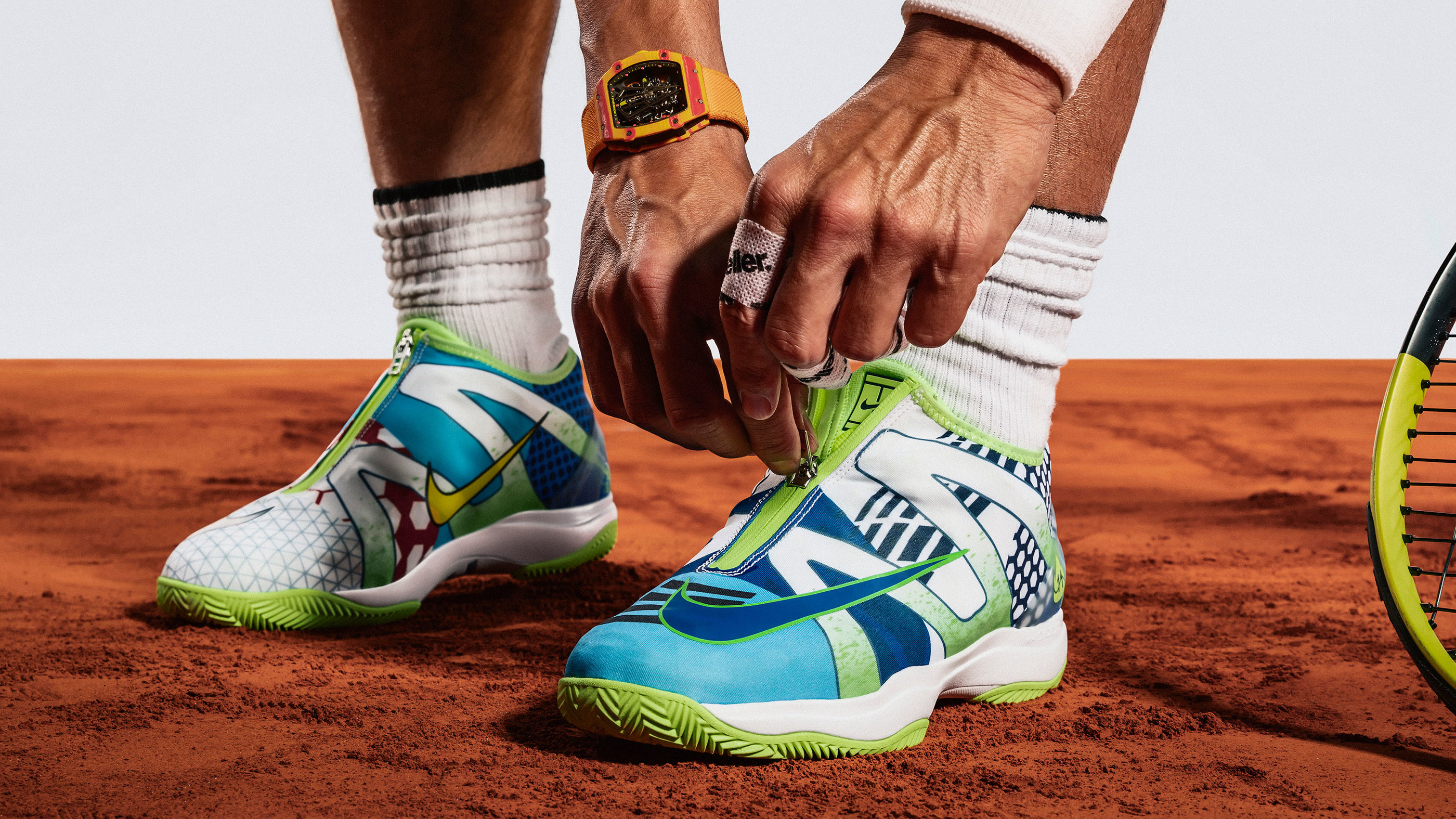 Rafael Nadal Is Getting His Own 'What The' Shoe